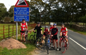 HCC Team Gaffa Lakes Ride
