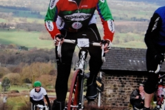 Malcolm on Mow Cop 2010