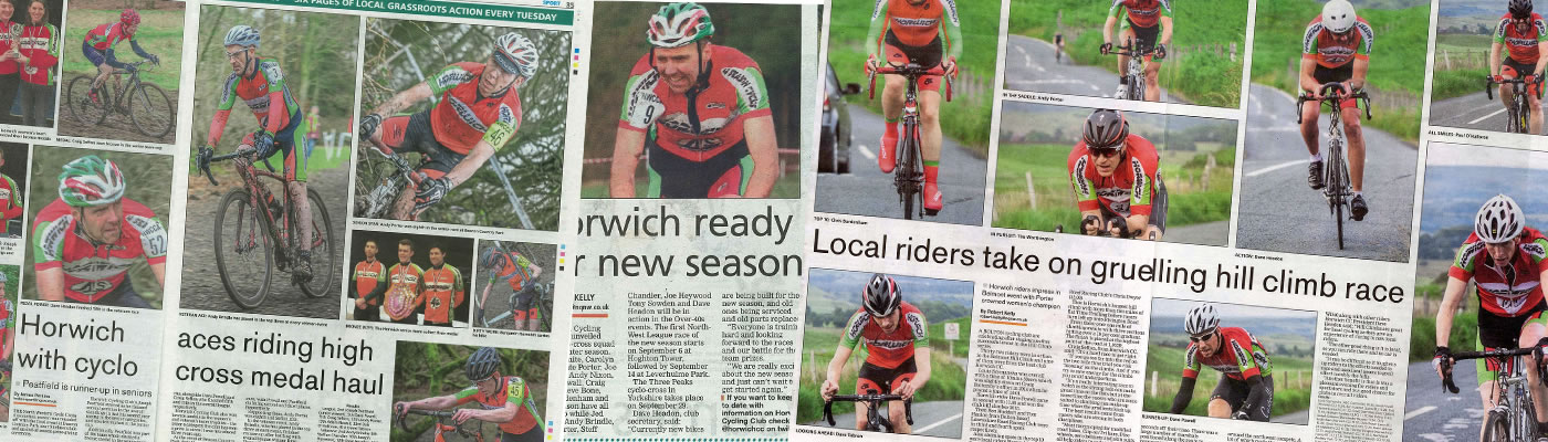 Horwich Cycling News